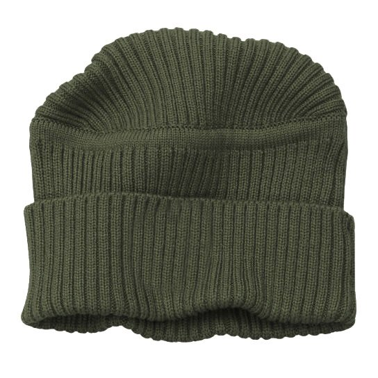 Шапка Flat Top Ribbed Beanie