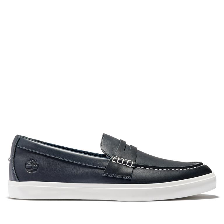 Union Wharf Penny Loafer, Темно-синий, Union Wharf Penny Loafer