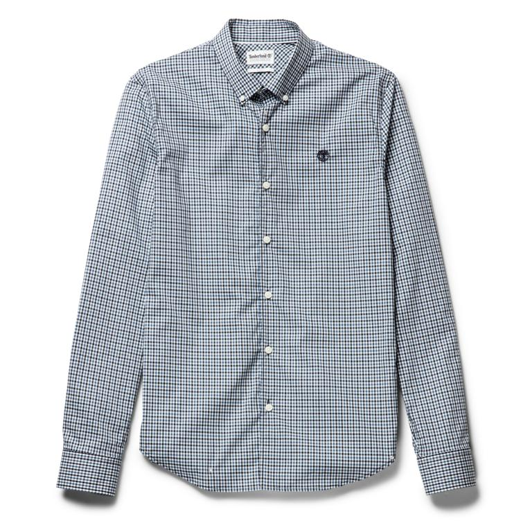 Рубашки LS Suncook River Gingham Dobby Non Iron Slim фото