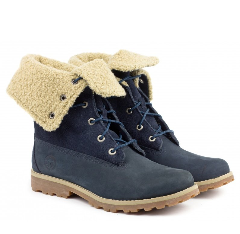 Ботинки Authentics 6-Inch Faux Shearling Junior