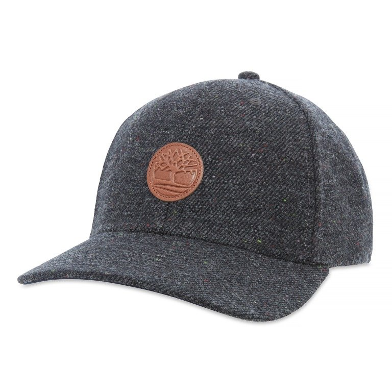 Color Block Tweed Cap