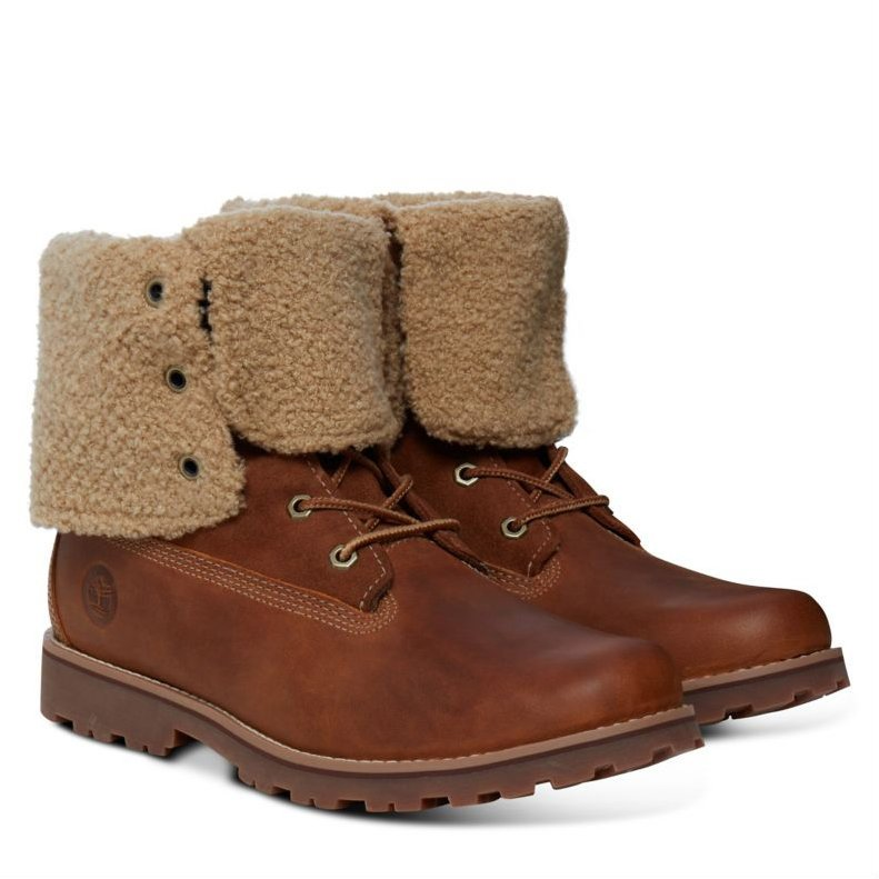 Ботинки Authentics 6-Inch Shearling Junior