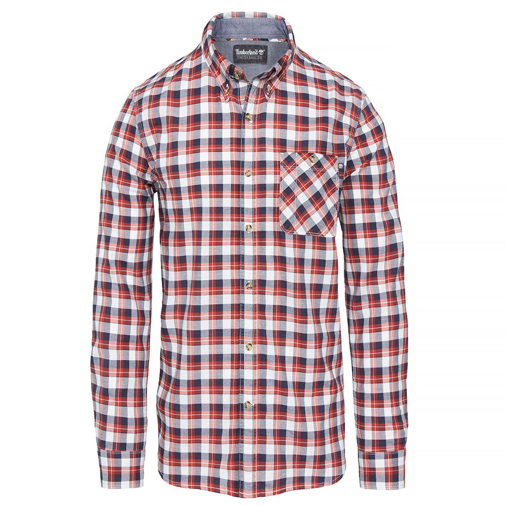 Рубашка LS Pleasant River Oxford Med Plaid